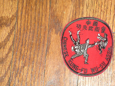 kung-fu,wu-su chinese association,,new old stock, 1960's