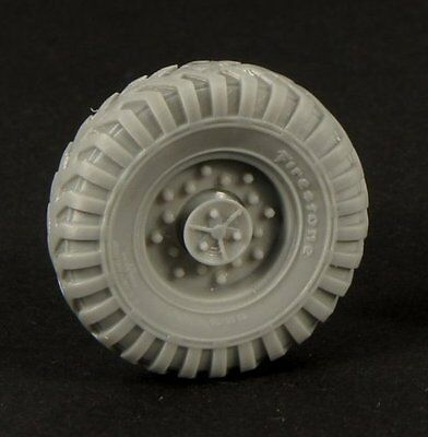 PANZER ART,1:35, RE35-343 Road wheels for Chevrolet C15 AC (Firestone)