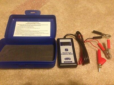 Brand New OTC 3674 Diesel Fuel Pressure Tester Measures 0-1,500 Bar 12 Volt DC