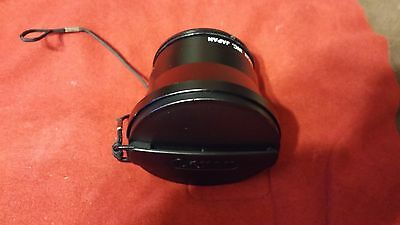 CANON camera VIDEO LENS WD 55 0.7x WIDE CONVERTER 55MM