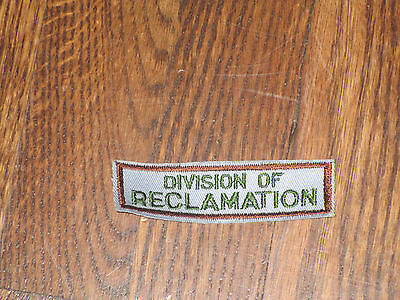 "park ranger,ohio, tab,nos, 1960's,""division of reclaimations"""
