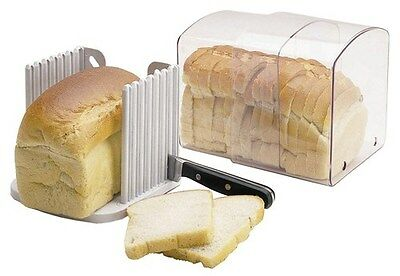 Bread Box Stay Fresh Acrylic Bread Keeper Expandable Storage Kitchen Craft