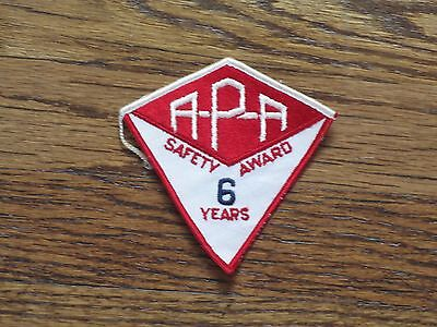 inc60/'s VINTAGE patch new old stock. trucking patch,alvan motor freight