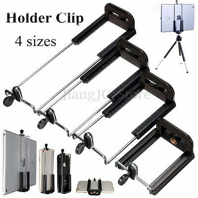 Camera Stand Clip Bracket Holder Monopod Tripod Mount Adapter for Phones&Tablets