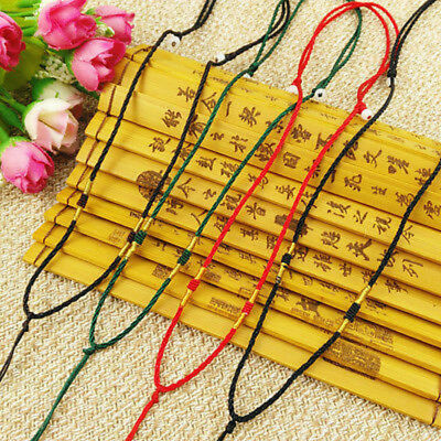 10Pcs Hand Knited Necklace Silk Cords For Pendant- simple
