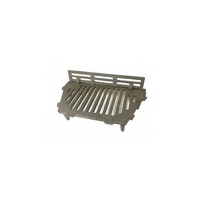 "A.L. Cast Iron Bottom Fire Grate Complete With Coal Guard - 18"" Open Fire"