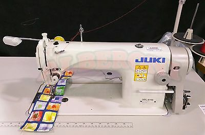 NEW Juki DDL-8700 Single Needle  SEWING  with K.D Stand & Servo Motor & Led Lamp