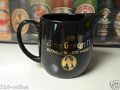 King George 1V Scotch Whisky water jug made in England