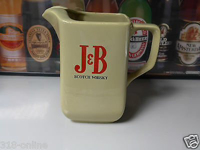 J & B Whisky water jug made in England