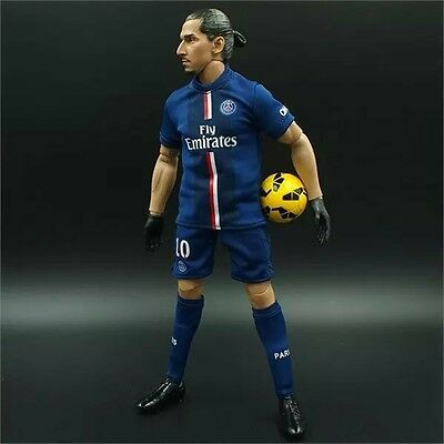 1/6 scale doll ZLATAN IBRAHIMOVIC #10 PSG FC 30cm football action figures LIGUE1