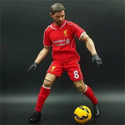 STEVEN GERRARD #8 LIVERPOOL FC 30 cm BIG football action figures PREMIER LEAGUE