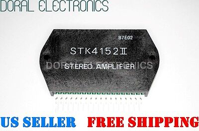 STK4152II STEREO AMPLIFIER Free Shipping US SELLER Integrated Circuit IC