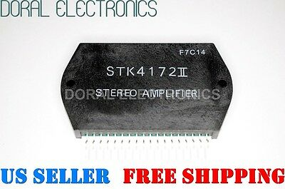 STK4172II STEREO AMPLIFIER Free Shipping US SELLER Integrated Circuit IC