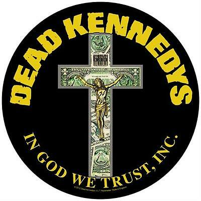 Dead Kennedys - In God We Trust - Back Patch - Brand New - Music Band 914