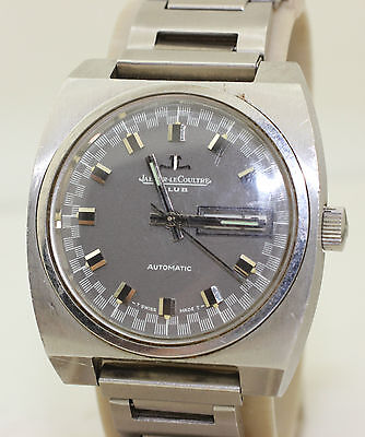 Vintage 1970's Jaeger - Le Coultre Club - Day Date - E300205 - Cal. AS 1906