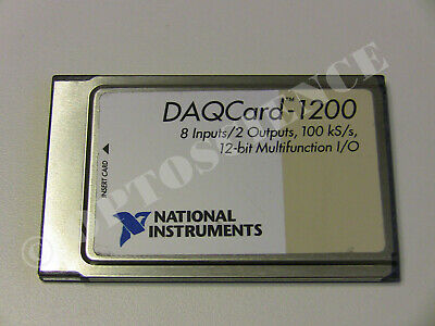 National Instruments PCMCIA DAQCard-1200 NI DAQ Card, Analog Input