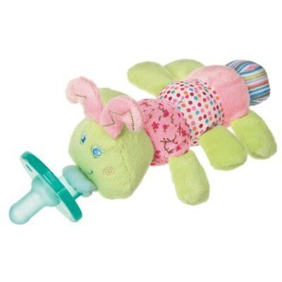 Mary Meyer WubbaNub Infant Newborn Baby Soothie Pacifier ~ Cutsie Caterpillar