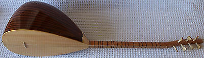 Turkish Short Neck Mahogany Baglama Saz For Sale