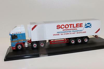 OO 1:76 Oxford ERF EC Olympic 40ft Fridge Scotlee Transport FNQHobbys (OX286)