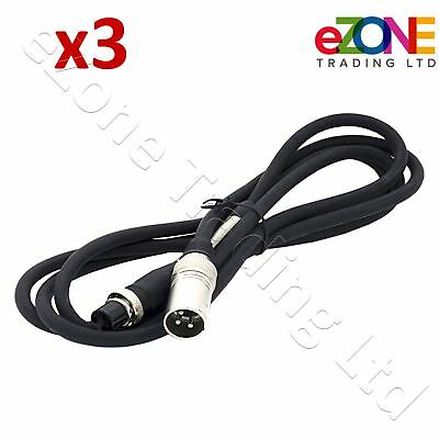 Power Cable (QTY 3) for Doner Kebab Cutter EASYCUT, ENIGMEX, RITEPRICE, UNIKUT