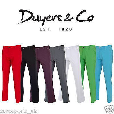 20% OFF New Dwyers & Co Mens Golf Trousers Water Repellent Stretch Tech Pant