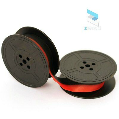 Underwood Noiseless 77 Typewriter Ribbon - Red/Black or Plain Black