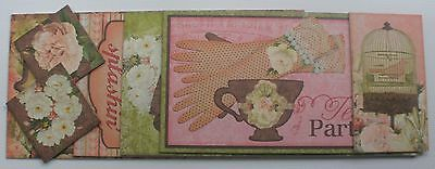 LiTTLE MiSS - Bo Bunny - Journal Chipboard Kit - Picture & Title Cards Die Cuts