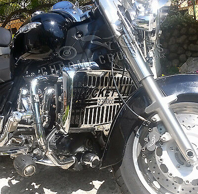 Triumph Rocket Iii Classic / Roadster Quality Chrome Radiator Cover Guard Grill