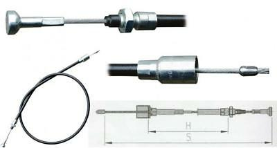 Compact Stainless Steel Brake Cable For Quick Mounting Al-Ko Trailer Accessories