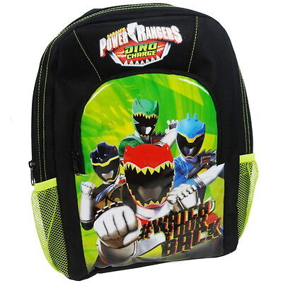 NEW OFFICIAL Power Rangers Boys / Kids Sports Backpack / Rucksack / School Bag