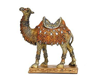 Gold, silver & copper resin camel figurine / Gift / Home decorative # 1380