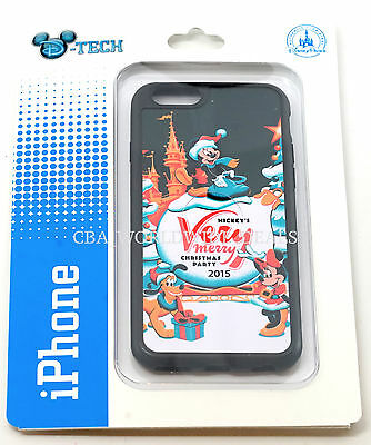 NEW Disney Parks D-Tech Very Merry Christmas Party 2015 iPhone 6 / 6S Case