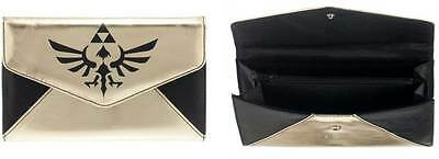 Zelda Logo Black/Gold Envelope Wallet