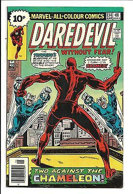 DAREDEVIL # 134 (CHAMELEON app. JUNE 1976), VF