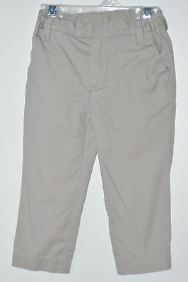 babyGAP Size 18-24 Months Beige Khaki Front Zipper Adjustable Waist Pants