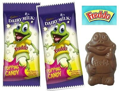 Bulk 36 x Popping Candy 12g Freddo Frogs Cadbury Chocolate Sweets Party Favor