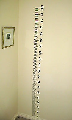 Child Growth Ruler. DIY VINYL Sticker For Baby toddler Child Growth/Age Chart