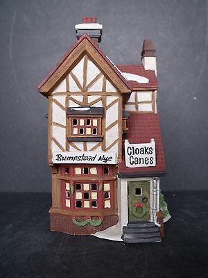 """Dept 56 Dicken's Village """"bumpstead Nye Cloaks & Canes"""" - #58084 - New In Box"""
