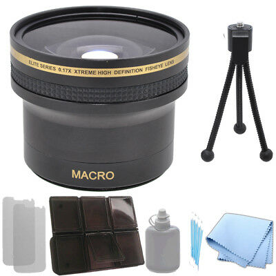 0.17x Xtreme Super HD Fisheye Lens 52 / 58 mm for DSLR Cameras/Camcorders
