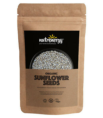 Organic RAW Sunflower Seeds (Shine Skin) | Free Tracked Delivery