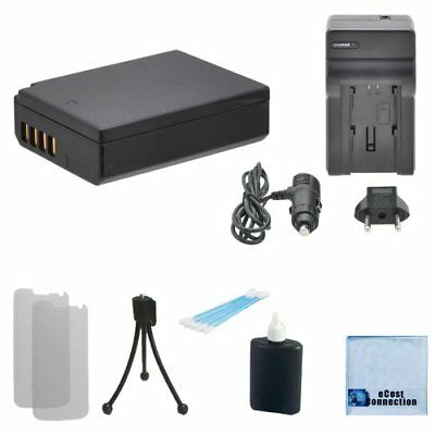 LPE10 Battery + Charger for Canon Rebel EOS 1100D 1200D KISS X50 REBEL T3 T5 T6