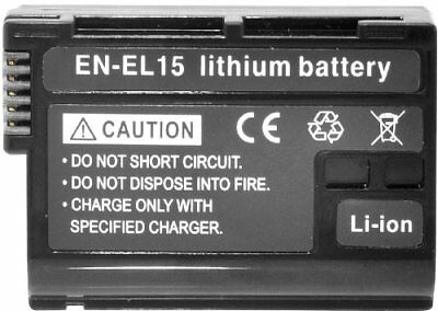 EN-EL15 Battery for Nikon D7000 D7100 D7200 1 V1