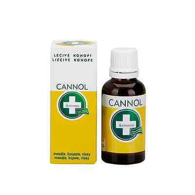 Hemp seed oil for massages and Chronic Pain Cannol Annabis (100ml)