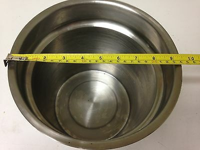 Stainless Steel Inset Pot 6QT