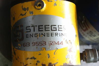 100 Tonne Hydraulic Jack Lifting Ram Steeger Engineeering 100T 100 SAL 370