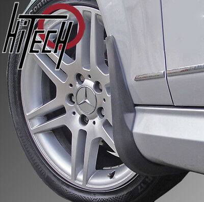 Genuine Hitech Mercedes C-Class W204/S204 AMG Sport Mudflaps (Post-Facelift)