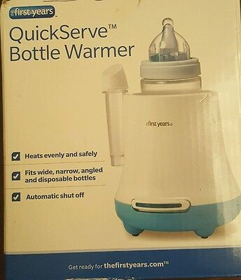 how to clean the first years bottle warmer