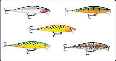 Rapala Flat Rap FLR 8 Hard Fishing Lure Plug 8cm - 7g Pike Perch Bass