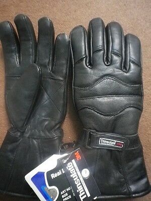 Motorcycle Leather Gloves-100% Water Proof New Chelsea