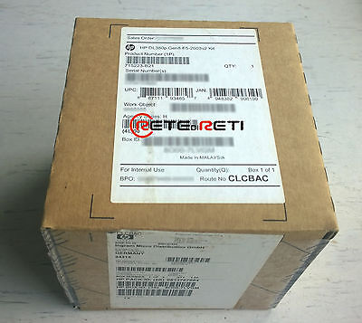 HP 715223-B21 DL380p G8 Gen8 CPU Kit Xeon E5-2603v2 10MB - NEW FACTORY SEALED